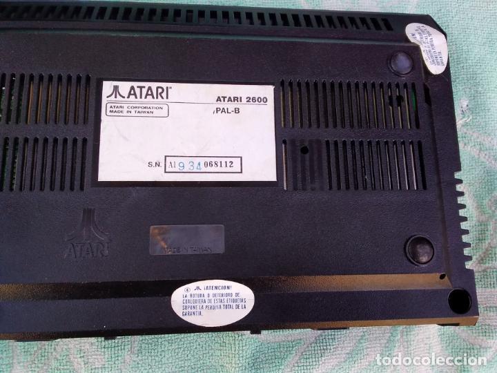Videojuegos y Consolas: LOTE DE 2 CONSOLAS FUNCIONANDO: ATARI 2600 + MANDOS + CARTUCHOS Y PALSON CX. 303 (CON SU CAJA) - Foto 5 - 253000840