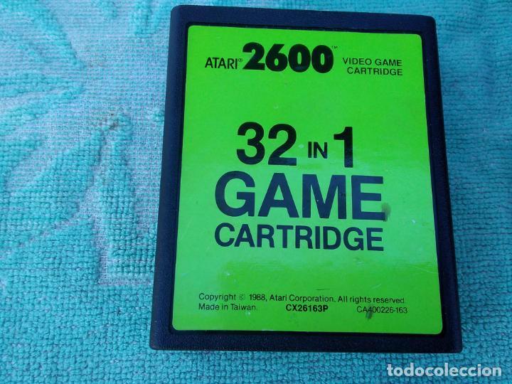 Videojuegos y Consolas: LOTE DE 2 CONSOLAS FUNCIONANDO: ATARI 2600 + MANDOS + CARTUCHOS Y PALSON CX. 303 (CON SU CAJA) - Foto 7 - 253000840