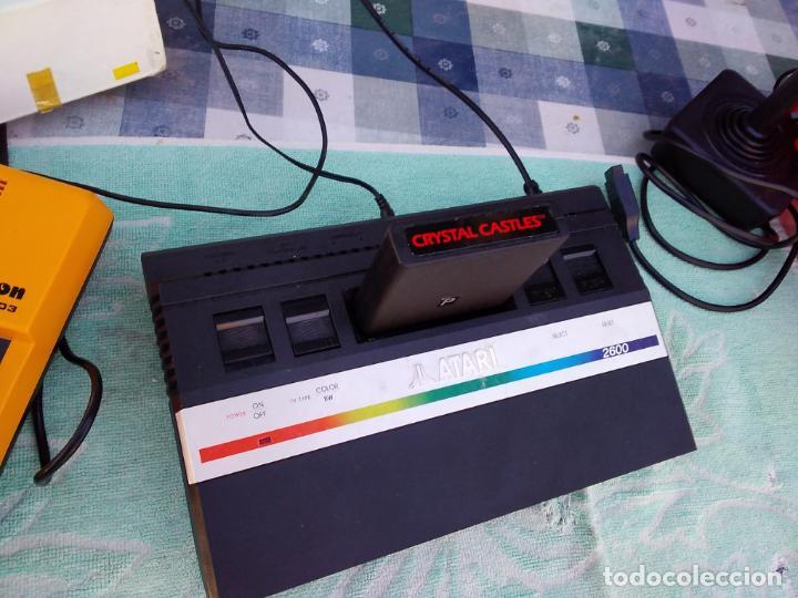 Videojuegos y Consolas: LOTE DE 2 CONSOLAS FUNCIONANDO: ATARI 2600 + MANDOS + CARTUCHOS Y PALSON CX. 303 (CON SU CAJA) - Foto 16 - 253000840