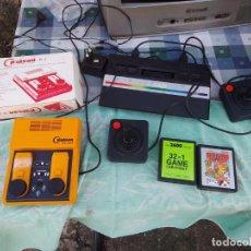 Videojuegos y Consolas: LOTE DE 2 CONSOLAS FUNCIONANDO: ATARI 2600 + MANDOS + CARTUCHOS Y PALSON CX. 303 (CON SU CAJA). Lote 253000840