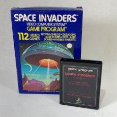 Videojuegos y Consolas: VIDEOJUEGO ATARI - SPACE INVADERS CX 2632 + CAJA. Lote 253096585