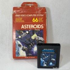 Videojuegos y Consolas: VIDEOJUEGO ATARI - ASTEROIDS - CX2649 + CAJA RESTAURADA. Lote 253103210
