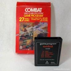 Videojuegos y Consolas: VIDEOJUEGO ATARI - COMBAT / 17 VIDEOJUEGOS - CX2601 + CAJA + INTRUCCIONES. Lote 253105625