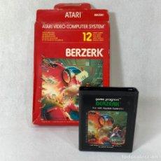 Videojuegos y Consolas: VIDEOJUEGO ATARI - BERZERK - CX2650+ CAJA. Lote 253106170