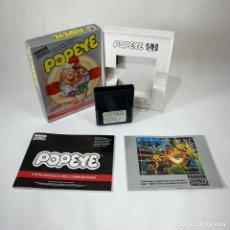 Videojuegos y Consolas: VIDEOJUEGO ATARI 2600 - POPEYE - PARKER + CAJA + INSTRUCCIONES. Lote 253153375