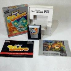 Videojuegos y Consolas: VIDEOJUEGO ATARI 2600 - SUPER COBRA - PARKER + CAJA + INSTRUCCIONES. Lote 253154505