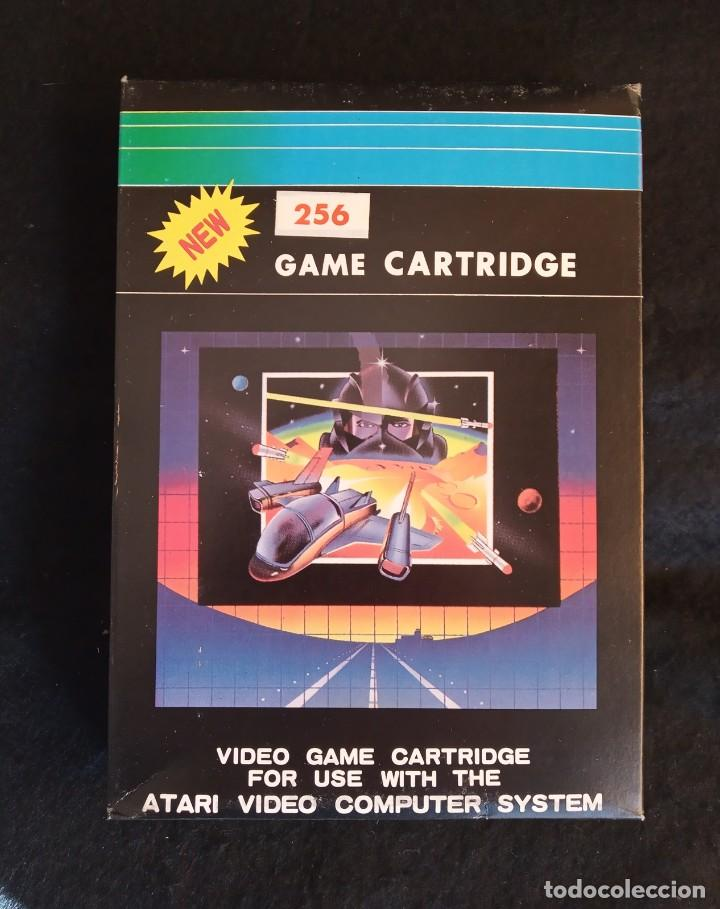 CARTUCHO PARA CONSOLA ATARI 2600. COMPILACIÓN DE 256 JUEGOS EN 1 CARTUCHO (Juguetes - Videojuegos y Consolas - Atari)