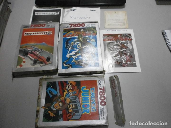 LOTE DE CAJAS VACIAS ATARI VER FOTOS (Juguetes - Videojuegos y Consolas - Atari)