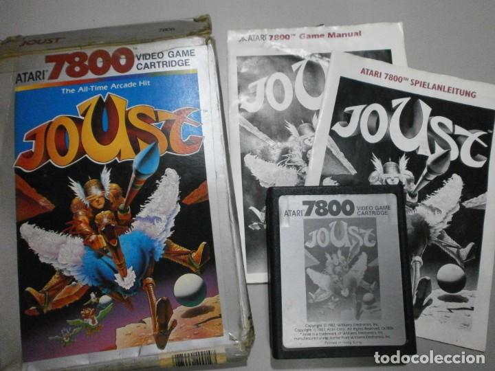 JUEGO ATARI JOUST VER FOTOS (Juguetes - Videojuegos y Consolas - Atari)