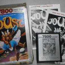 Videojuegos y Consolas: JUEGO ATARI JOUST VER FOTOS. Lote 254388945