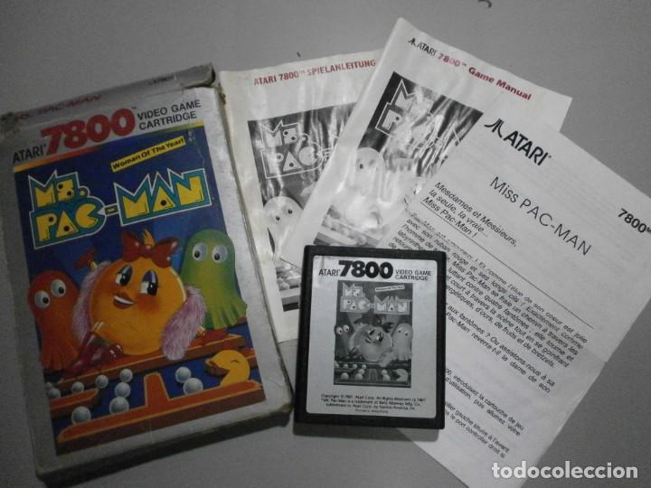 JUEGO ATARI MS PAC MAN VER FOTOS (Juguetes - Videojuegos y Consolas - Atari)