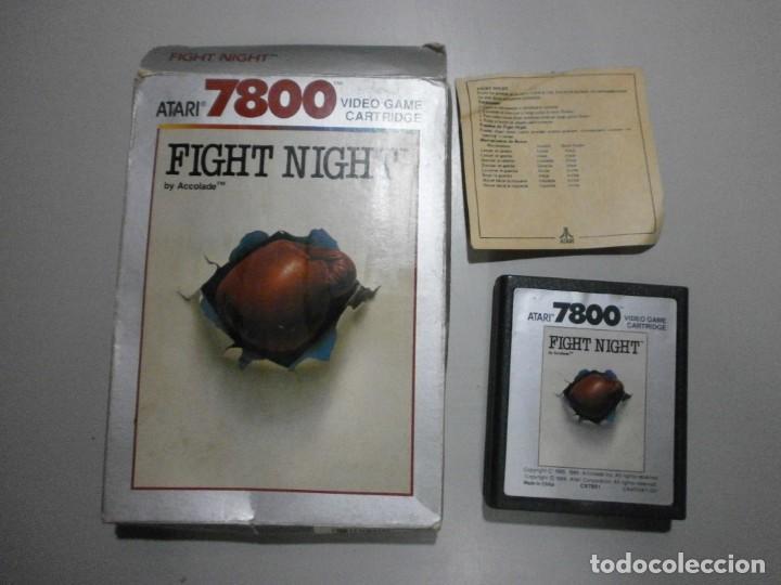 JUEGO ATARI FIGHT NIGHT VER FOTOS (Juguetes - Videojuegos y Consolas - Atari)