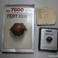 Videojuegos y Consolas: JUEGO ATARI FIGHT NIGHT VER FOTOS. Lote 254389625