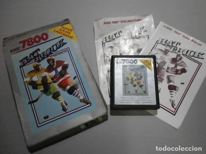 JUEGO ATARI HAT TRICK VER FOTOS (Juguetes - Videojuegos y Consolas - Atari)