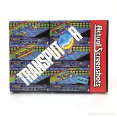 Videojuegos y Consolas: TRANSPUTOR - ACTUAL SCREENSHOTS CRL GROUP PLC 1988 DISCO PROGRAMA ORDENADOR ATARI ST DISKETTE 3½ MBE. Lote 255360560