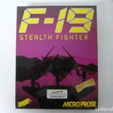Videojuegos y Consolas: F-19 STEALTH FIGHTER / ATARI ST / STE / RETRO VINTAGE / DISCO - DISQUETE. Lote 255506910