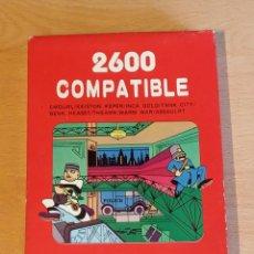 Videojuegos y Consolas: CARTUCHO COMPATIBLE CONSOLA ATARI 2600. MODELO POLICIA.. Lote 256134510