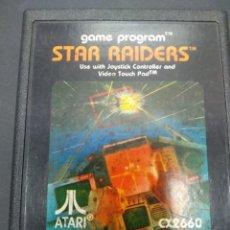 Videojuegos y Consolas: STAR RAIDERS VIDEOJUEGO ATARI 2600 SOLO CARTUCHO. Lote 257276565
