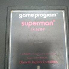 Videojuegos y Consolas: SUPERMAN VIDEOJUEGO ATARI 2600 SOLO CARTUCHO. Lote 257276860