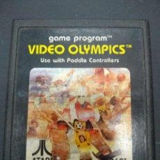 Videojuegos y Consolas: VIDEO OLYMPICS VIDEOJUEGO ATARI 2600 SOLO CARTUCHO. Lote 257277275
