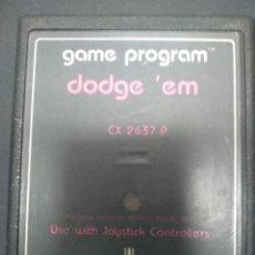Videojuegos y Consolas: DODGE,EM VIDEOJUEGO ATARI 2600 SOLO CARTUCHO. Lote 257277670