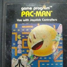 Videojuegos y Consolas: PAC-MAN VIDEOJUEGO ATARI 2600 SOLO CARTUCHO. Lote 257278305