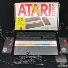 Videojuegos y Consolas: CONSOLA ATARI 2600 JR COMPLETA FUNCIONANDO MUY BUEN ESTADO. Lote 259711355