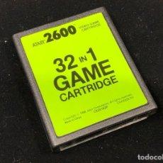 Jeux Vidéo et Consoles: ATARI 2600 JUEGO CARTUCHO 32 EN 1 MUY BUEN ESTADO. Lote 259756920