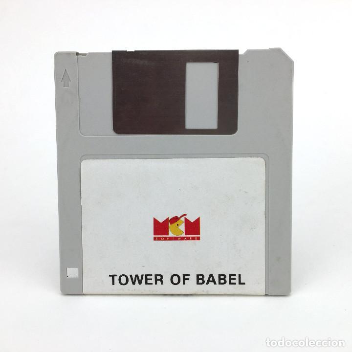 TOWER OF BABEL MCM ESPAÑA RAINBIRD 1990 JUEGO ESTRATEGIA 3D ARCADE PUZZLE RETRO ATARI ST DISKETTE 3½ (Juguetes - Videojuegos y Consolas - Atari)