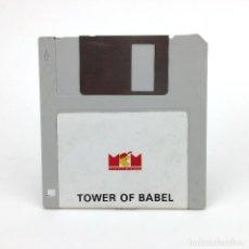 Videojuegos y Consolas: TOWER OF BABEL MCM ESPAÑA RAINBIRD 1990 JUEGO ESTRATEGIA 3D ARCADE PUZZLE RETRO ATARI ST DISKETTE 3½. Lote 260777735