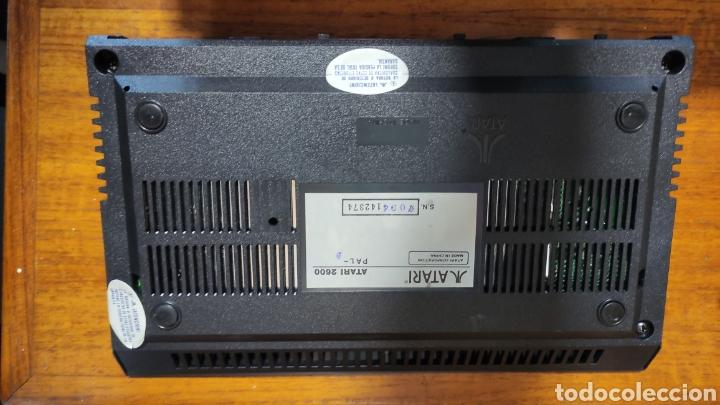 Videojuegos y Consolas: VIDEOCONSOLA ATARI 2600 - COMPLETO EN SU CAJA ORIGINAL FUNCIONANDO COMO NUEVA CON 32 JUEGOS EN UNO - Foto 8 - 260796610