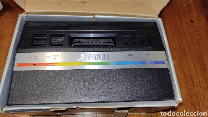 Videojuegos y Consolas: VIDEOCONSOLA ATARI 2600 - COMPLETO EN SU CAJA ORIGINAL FUNCIONANDO COMO NUEVA CON 32 JUEGOS EN UNO - Foto 9 - 260796610