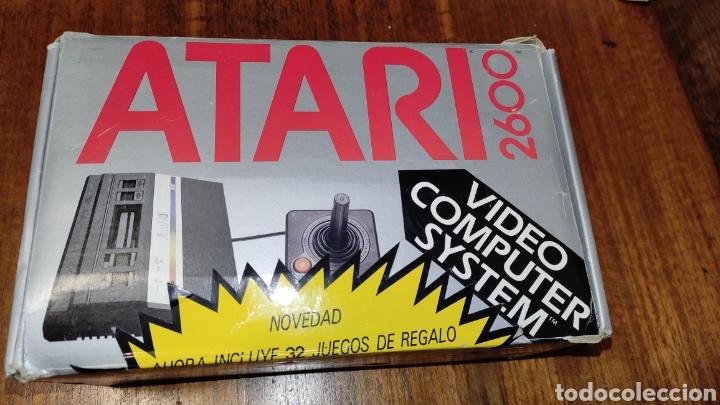 VIDEOCONSOLA ATARI 2600 - COMPLETO EN SU CAJA ORIGINAL FUNCIONANDO COMO NUEVA CON 32 JUEGOS EN UNO (Juguetes - Videojuegos y Consolas - Atari)