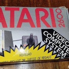 Videojuegos y Consolas: VIDEOCONSOLA ATARI 2600 - COMPLETO EN SU CAJA ORIGINAL FUNCIONANDO COMO NUEVA CON 32 JUEGOS EN UNO. Lote 260796610