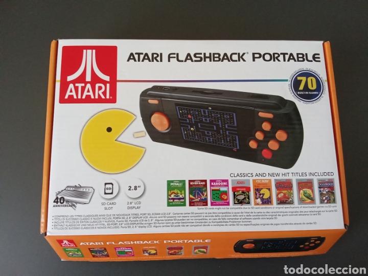 CONSOLA RETRO ATARI FLASHBACK PORTABLE (Juguetes - Videojuegos y Consolas - Atari)