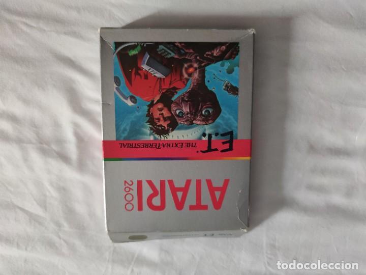 Videojuegos y Consolas: Videojuego original ET Atari (1982) con caja y manual en perfecto estado - Foto 3 - 262102380