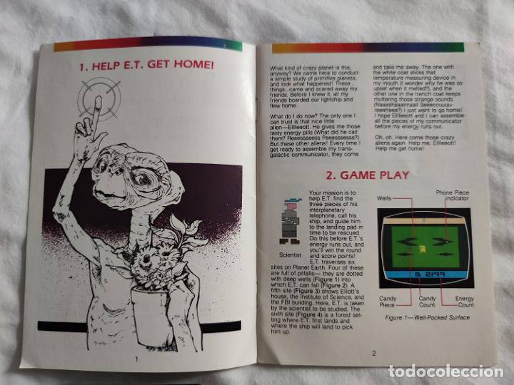 Videojuegos y Consolas: Videojuego original ET Atari (1982) con caja y manual en perfecto estado - Foto 9 - 262102380