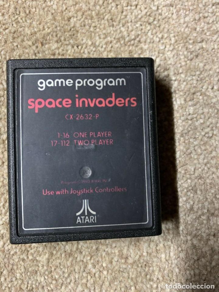 Videojuegos y Consolas: Atari CX-2600 madera y 6 switch excelente conservación, con caja original - Foto 4 - 262103595