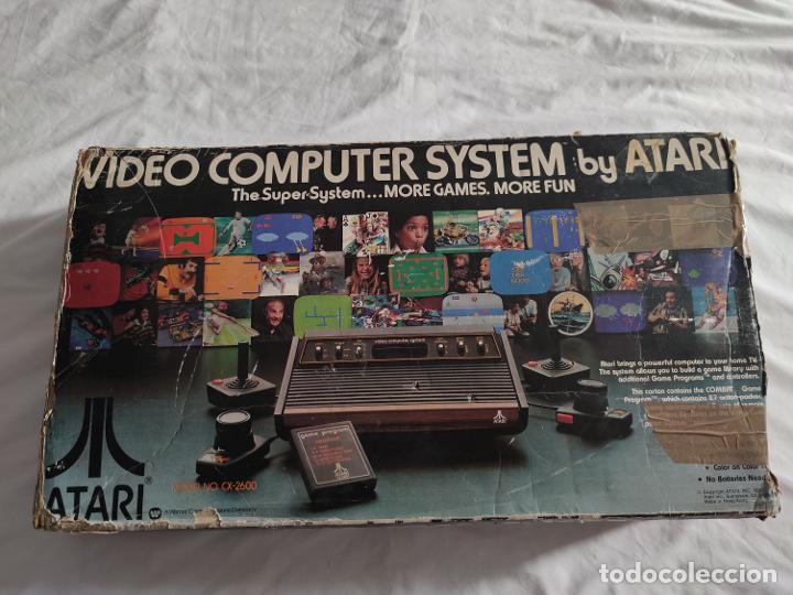Videojuegos y Consolas: Atari CX-2600 madera y 6 switch excelente conservación, con caja original - Foto 5 - 262103595