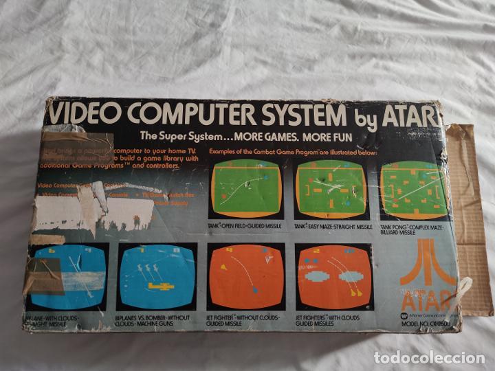 Videojuegos y Consolas: Atari CX-2600 madera y 6 switch excelente conservación, con caja original - Foto 6 - 262103595