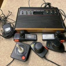 Videojuegos y Consolas: ATARI CX-2600 MADERA Y 6 SWITCH EXCELENTE CONSERVACIÓN, CON CAJA ORIGINAL. Lote 262103595