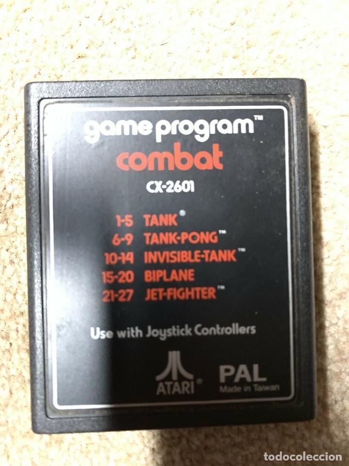 Videojuegos y Consolas: Atari CX-2600 madera y 6 switch excelente conservación, con caja original - Foto 8 - 262103595