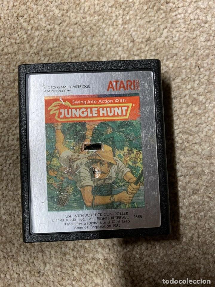 Videojuegos y Consolas: Atari CX-2600 madera y 6 switch excelente conservación, con caja original - Foto 9 - 262103595