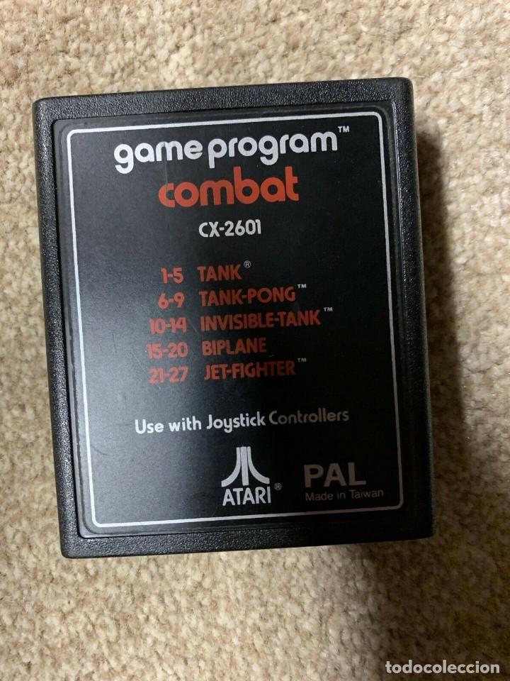 Videojuegos y Consolas: Atari CX-2600 madera y 6 switch excelente conservación, con caja original - Foto 10 - 262103595
