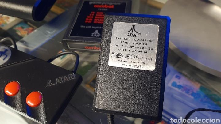 Videojuegos y Consolas: Atari 7800 + juegos en cartucho tank etc mando - Foto 11 - 262921895