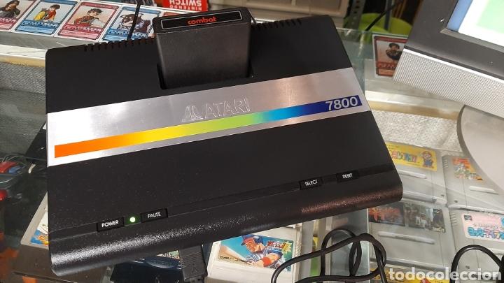 Videojuegos y Consolas: Atari 7800 + juegos en cartucho tank etc mando - Foto 12 - 262921895