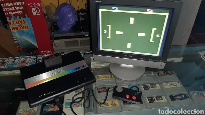 ATARI 7800 + JUEGOS EN CARTUCHO TANK ETC MANDO (Juguetes - Videojuegos y Consolas - Atari)