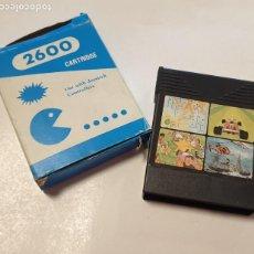 Videojogos e Consolas: CARTUCHO ATARI 2600 128 IN ONE COMPATIBLE (NUEVO A ESTRENAR). Lote 264542464