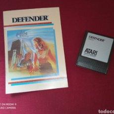 Videojuegos y Consolas: DEFENDER ATARI XE(GS) - ATARI 1987 -. Lote 267356629