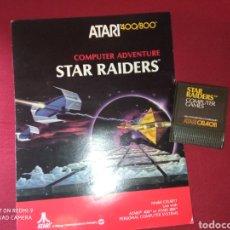 Videojuegos y Consolas: STAR RAIDERS 400/800 - ATARI 1979 -. Lote 267357014